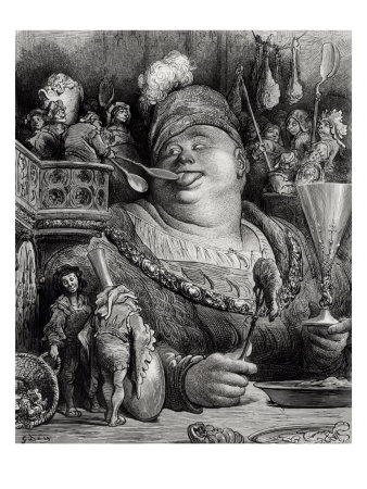 164723~Pantagruel-s-Meal-from-Pantagruel-by-Francois-Rabelais-Posters