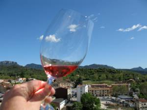 Priorat, through a glass lightly rose