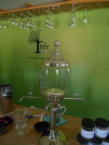 Tree Spirit's traditional absinthe maker