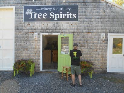 Tree Spirits, Winery and Distillery, Oakland, Maine