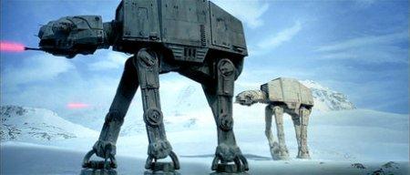 Snow walker from Star Wars